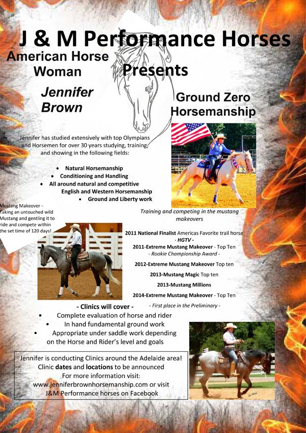Jennifer Brown Horsemanship
